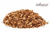foto of tobacco smoke  - Dry smoking tobacco close - JPG