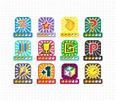 picture of asset  - game asset icon theme vector art illustration - JPG