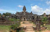 Khmer Temple In Angkor Wat