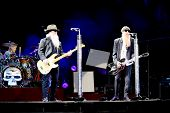 ZZ Top Together on Stage