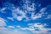 picture of clouds  - Blue sky and clouds XXL - JPG