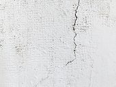 stock photo of concrete  - Abstract concrete weathered with cracks and scratches - JPG