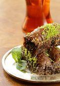 image of baklava  - Turkish arabic dessert  - JPG