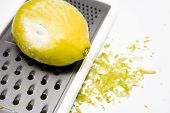 Grated Yellow Lemon 2