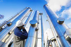 stock photo of pipeline  - oil - JPG