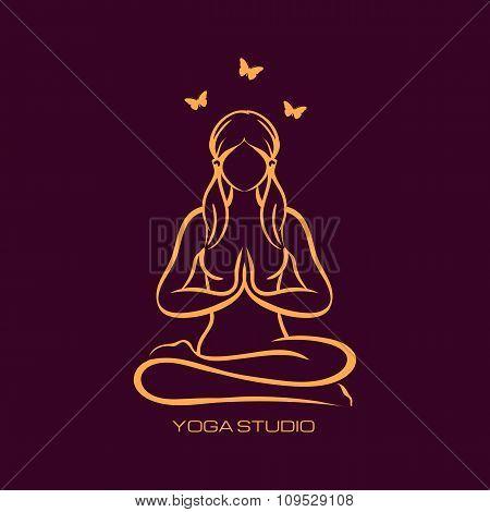 Yoga Lotus Position Namaste Mudra Asana Meditation Mindfulness Zen Pilates Poses