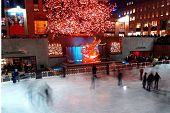 A Holiday Light Display At Rockefeller Center #2