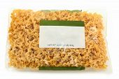 Blank Label Wide Egg Noodle Package
