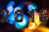 Постер, плакат: New year eve collage