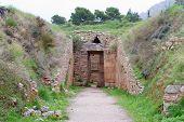 Tholos Tomb Of Aegisthus, Mycenae,