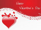 image of corazon  - abstract valentine day card - JPG