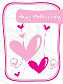 cute abstract mother day background
