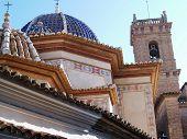 Spanish Church Architecture poster