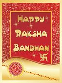 stock photo of rakshabandhan  - abstract stylish pattern background for rakshabandhan - JPG