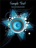 Resumen de antecedentes con vinilo Grunge, ilustración vectorial