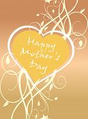 illustration of happy mother day background