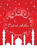 pic of eid mubarak  - vector illustration for eid al adha - JPG