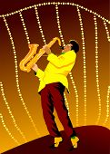 Retro-Saxophon