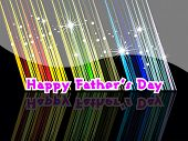 abstract colorful rays effect, twinkle star background wallpaper for father's day