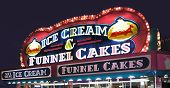 Carnival Concession Funnel Cakes