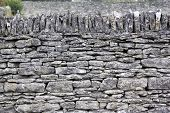 Cotswolds Dry Stone Wall Background