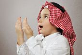 Praying Islamic Kid