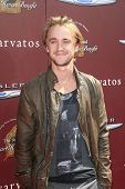 WEST HOLLYWOOD, CA - MAR 11: Tom Felton at the 9th Annual John Varvatos Stuart House Benefit on March 11, 2012 in West Hollywood, California