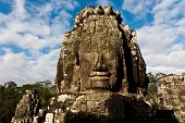 Famous Head Statues Of Angkor Wat