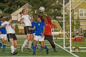 Girls Hs Varsity Soccer Goalie