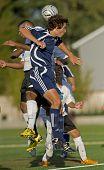 Jongens Varsity Soccer eeuw V Wilsonville