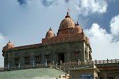 Swami Vivekananda Memorial, Mandapam, Kanyakumari, Tamil Nadu, Índia.
