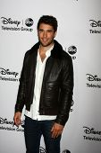 LOS ANGELES - JAN 10:  Josh Bowman attends the ABC TCA Winter 2013 Party at Langham Huntington Hotel