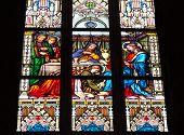 Prague Stained Glass Window