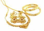 Wedding jewelry of Indian subcontitent