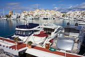 Puerto Banus Marina In Spain