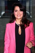 LOS ANGELES - JAN 12:  Salma Hayek arrives at the 2013 Film Inependent nominees brunch at BOA Steakh
