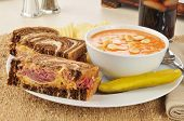Reuben With Tomato Soup
