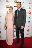 LOS ANGELES - JAN 12: Naomi Watts, Liev Schreiber at the 2013 G'Day USA Los Angeles Black Tie Gala a