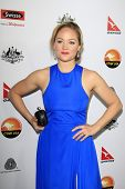 LOS ANGELES - JAN 12: Erika Christensen at the 2013 G'Day USA Los Angeles Black Tie Gala at JW Marri