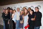 LOS ANGELES - SEP 13:  China Beach Cast at the PaleyFest Fall Flashback -