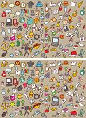 Icons Differences Visual Game
