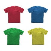 image of t-shirt red  - Four generic t - JPG