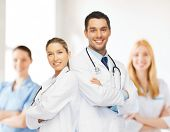 stock photo of paramedic  - healthcare - JPG