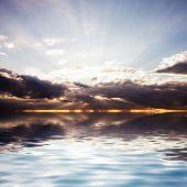 Sunrays At Sea