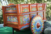 Restored Traditional Costa Rican Oxcart