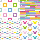 colorful pattern collection