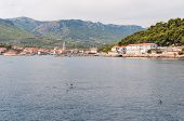 City Of Jelsa In Croatia