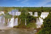 The most famous waterfalls in the world - Iguazu