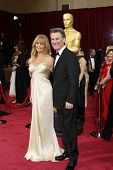 LOS ANGELES - MAR 2:: Goldie Hawn, Kurt Russell  at the 86th Annual Academy Awards at Hollywood & Hi