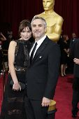 LOS ANGELES - MAR 2:: Alfonso Cuaron  at the 86th Annual Academy Awards at Hollywood & Highland Cent